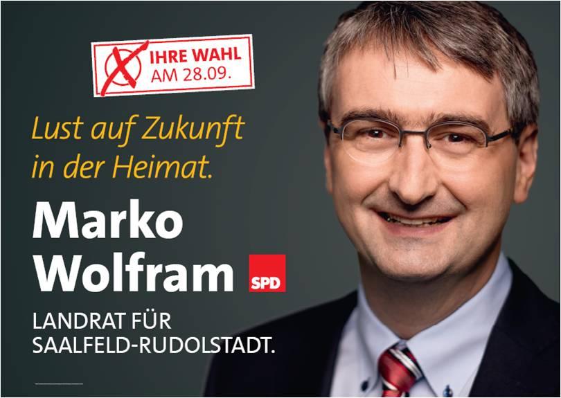 Vize-Landrat <b>Marko Wolfram</b> souverän in der Stichwahl - Stichwahl_2014